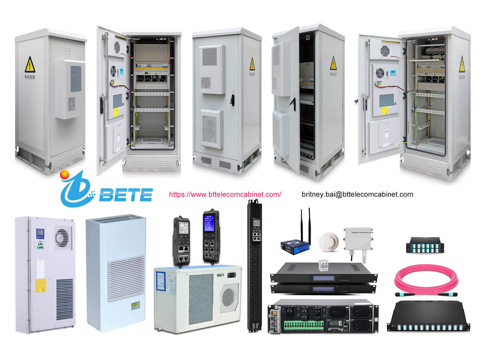 Application and characteristics of outdoor communication cabinets