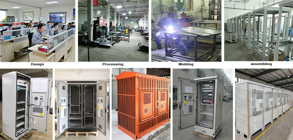 Galvanized Steel Air Conditioner production