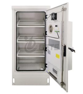 Outdoor battery cabinet