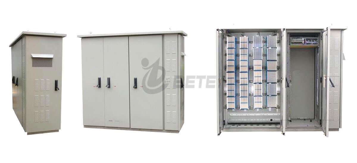 BT2008022001FB Three Compartments Street Cabinet