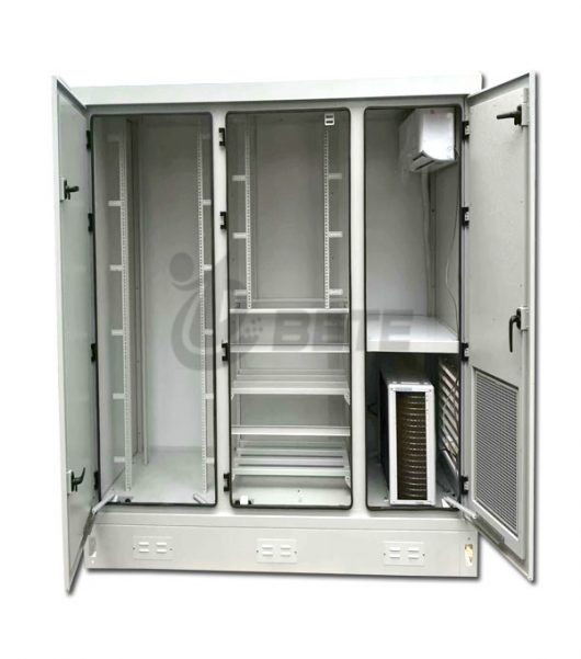 Energy Saving Communication Cabinet With 2500W Split Air Conditioner