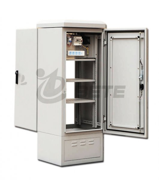 IP55 Outdoor Optical Fiber Cabinet With Front And Back Doors