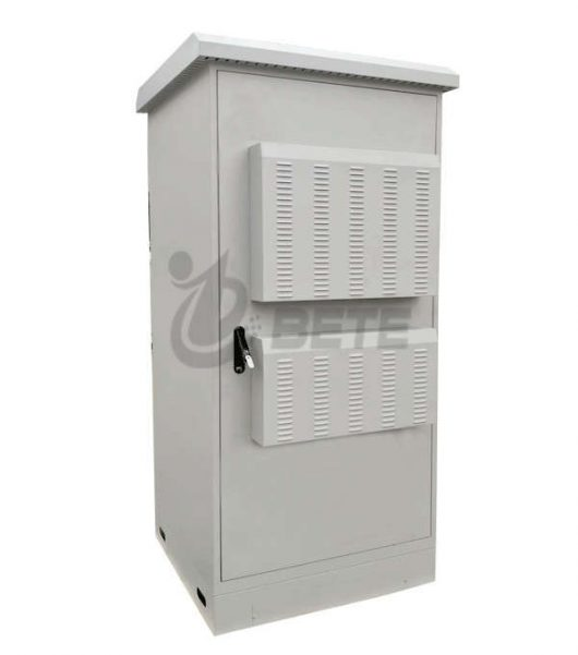 IP55 Galvanized Steel Single Wall Outdoor Monitoring Cabinet With Anti Theft Design