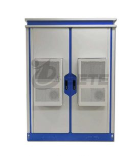 Air Condtioners Galvanized Steel Outdoor Telecom Cabinet With Front Rear Access