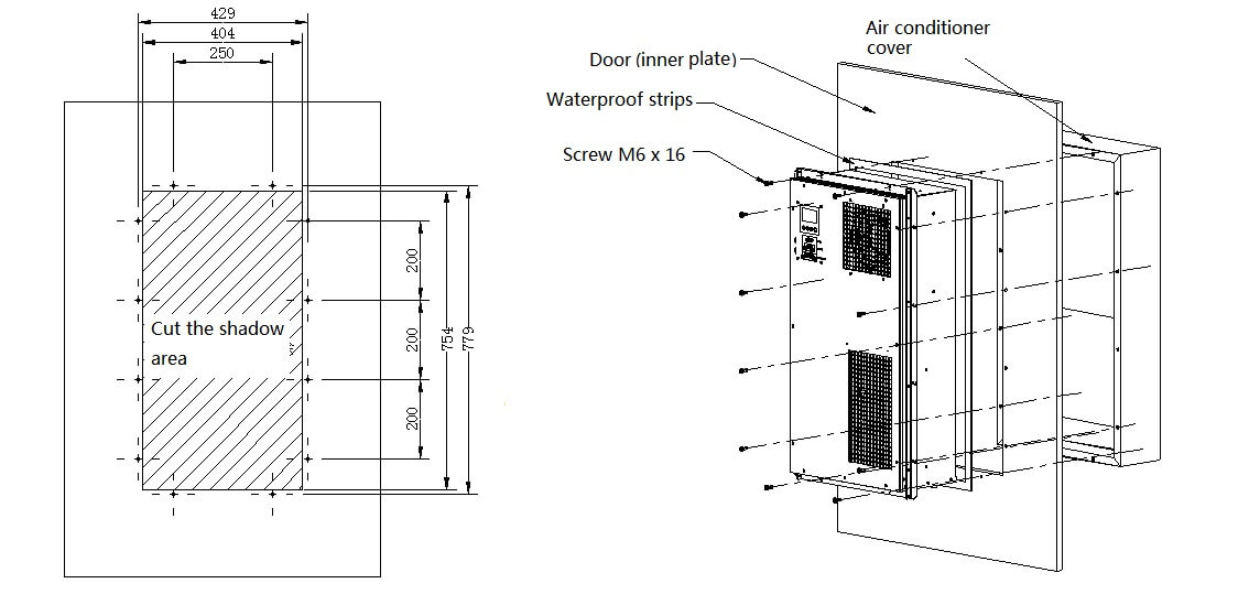 Industrial Equipment 1500W Air Conditioner