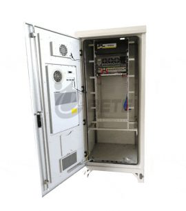 Air Conditioners Cooling Outdoor Telecom Cabinet / Outdoor Power Cabinet IP55