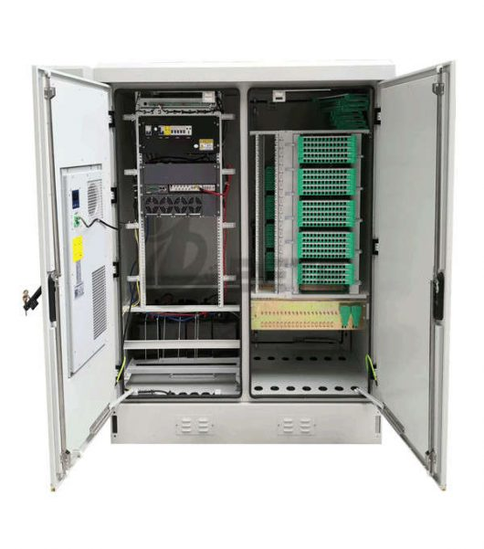Outdoor Optical Cabinet with Air Conditioner