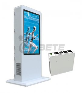 42-inch display air conditioning, 600W advertising machine air-conditioning sales