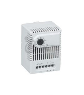Telecommunications cabinet mechanical humidity controller