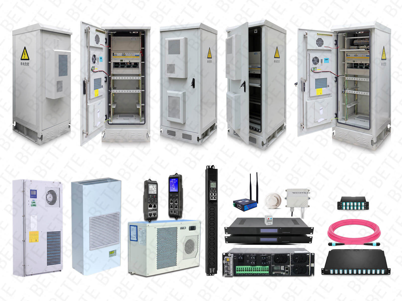 Communication cabinet temperature control solutions