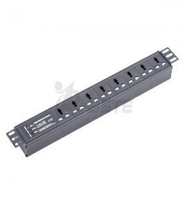 8 Way PDU 10A Lightning Protection Plug 3 Indicators PDU Socket For Cabinet