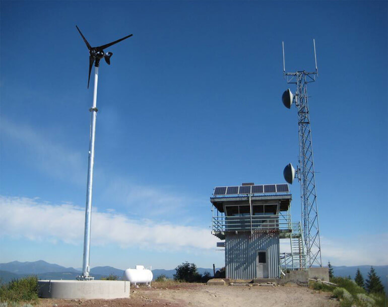 Solar Telecommunications Base Station