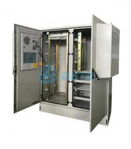IP55 Outdoor Telecommunication Cabinet Two Compartments