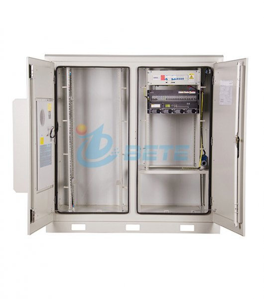Outdoor Base Station Air Conditioning Power Battery Cabinet Galvanized Steel