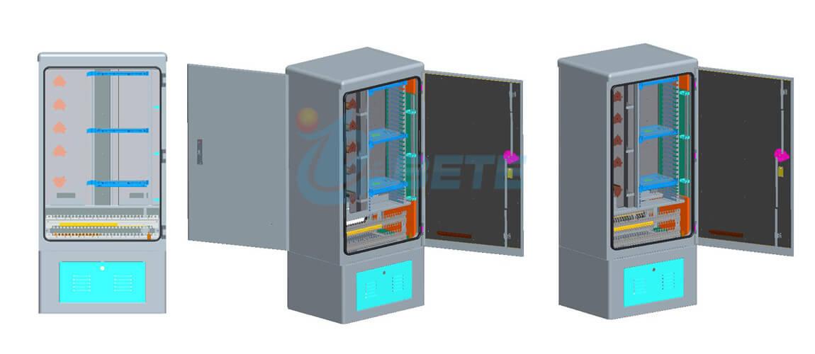 Outdoor Fiber Distribution Cabinet