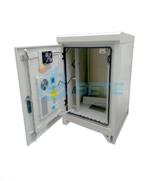 16U Pole Mounted Outdoor Telecom Cabinet For Small Sites