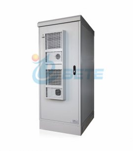 40U Double Insulation 2000W Air-conditioned Street Outdoor telecom enclosures