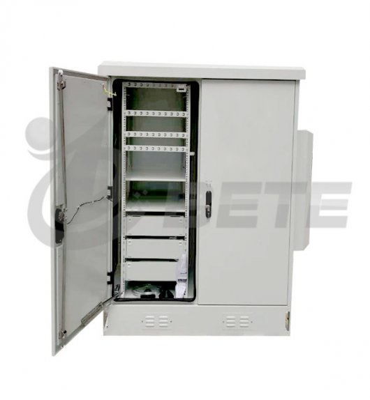 ETE supply 2 compartments integrated outdoor server cabinet on sales
