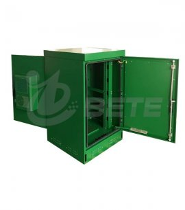 Outdoor Lithium Battery Cabinet Air Conditioner Cooling System Green Color
