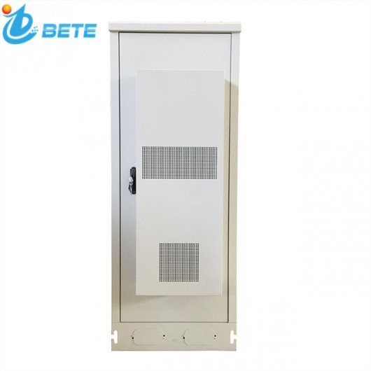 42U Outdoor Telecom Cabinet 48V LED Outdoor Enclosure Heat Insulation