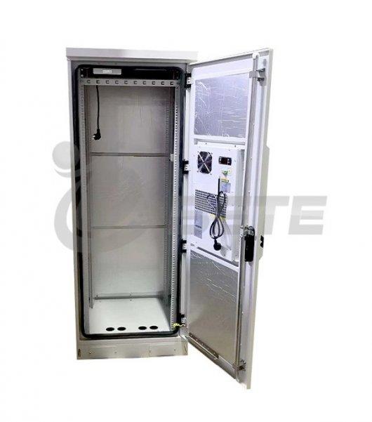 42U Outdoor Equipment Enclosure Air Conditioner Cooling Rack Cabinet