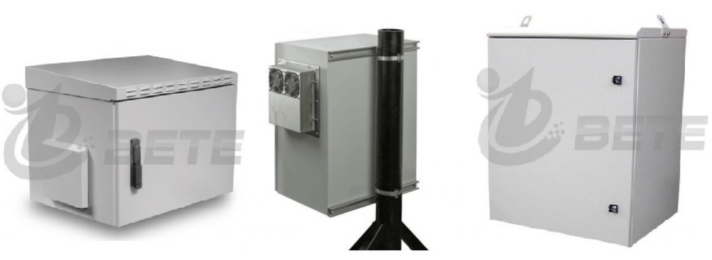 Wheatherproof Electrical Cabinet Pole Mounted Outdoor Server Rack