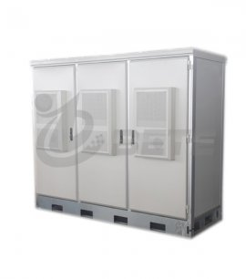 Outdoor Telecom Rack Cabinet IP55 Two Doors Outdoor Electrical Enclosure