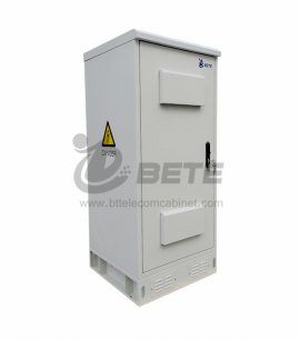 IP55 Outdoor Battery Enclosure Galvanized Steel Outdoor Telecom Equipment Enclosure
