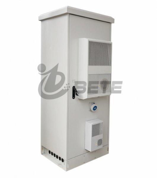 Outdoor Enclosure 42U Rack Telecom Enclosure Air Conditioner Cooling NEMA 4