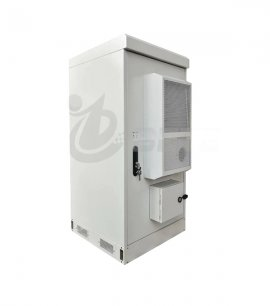 NEMA 4X Outdoor Power Enclosure Air Conditioner With PDU EMS