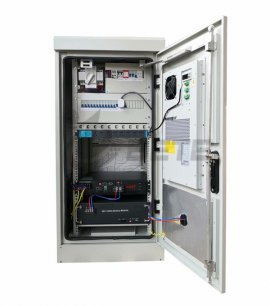 Outdoor telecom cabinet is equipped with DC48V telecom air conditioner