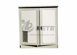 Outdoor Rack Enclosure With 2000W Split-type Air Conditioner 2 Compartments