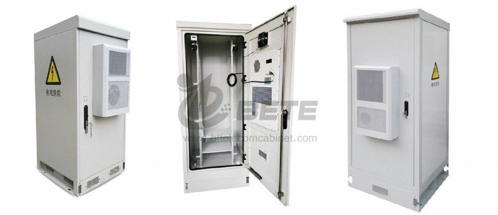 38U Outdoor Rack Enclosure Panel Air Conditioner 19 Inch Equipment Rack