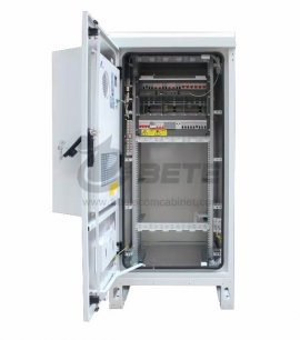 IP56 Outdoor Power Cabinet Air Conditioner With PDU EMS Rectifier