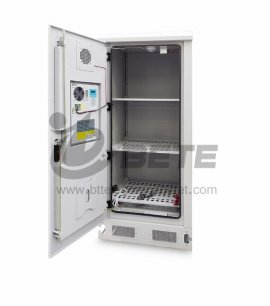Outdoor Battery Cabinet With DC Air Conditioner Anti-theft Protection