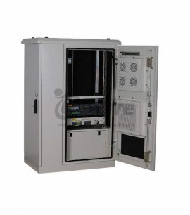 Outdoor Fiber Cabinet With 288 Core Optical Fiber 100Ah Battery