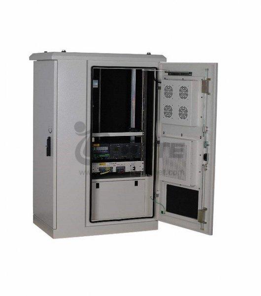 Outdoor Fiber Cabinet With 288 Core Optical Fiber 100Ah Battery
